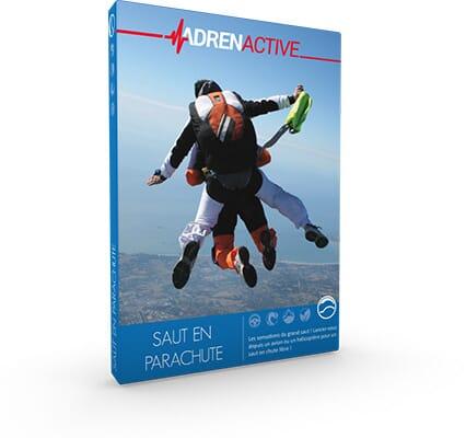 Coffret cadeau sensations 100 % Saut en Parachute - Box cadeau Adrenactive