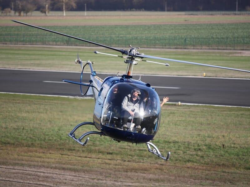 Baptême de l'Air en Hélicoptère près d'Orléans - Saint-Denis-de-l'Hôtel