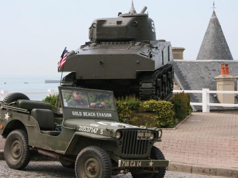 Randonnée en Jeep Willys près de Caen - Plages du Débarquement