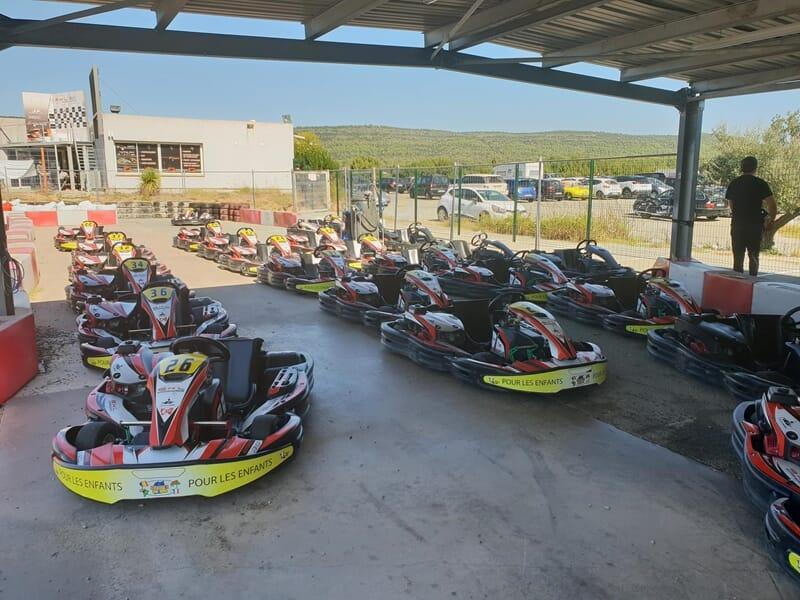 Karting près de Toulon - Brignoles