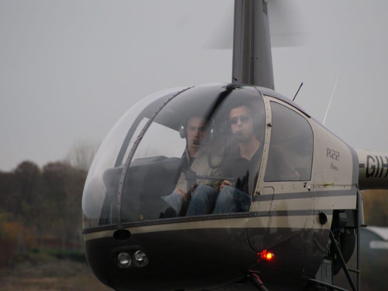 Initiation au Pilotage d'Hélicoptère à Brive