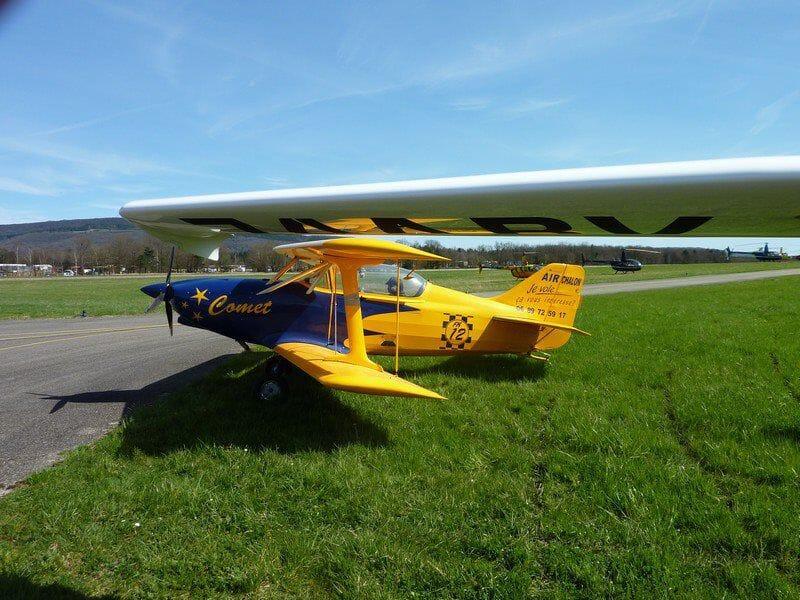 Initiation au Pilotage d'un Avion Léger à Chalon-sur-Saône
