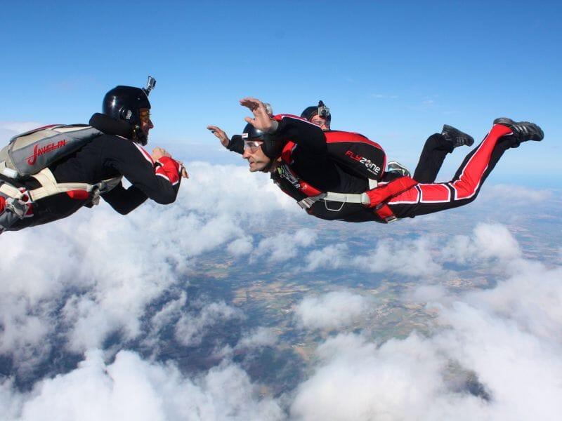 saut en parachute formation pac