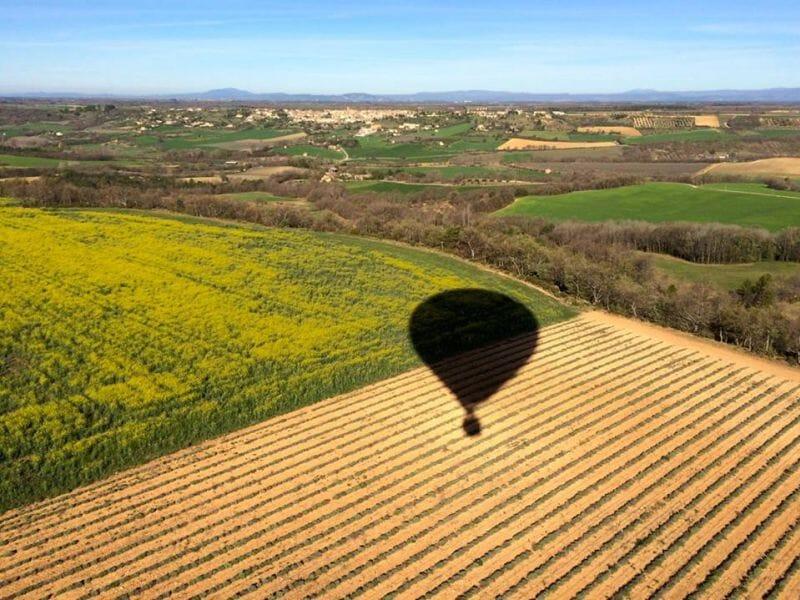 Vol en Montgolfière près de Marseille - Survol de la Provence
