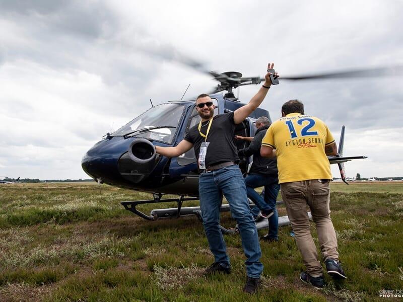 Baptême de l'Air en Hélicoptère à Bordeaux - Survol des vignobles du Médoc
