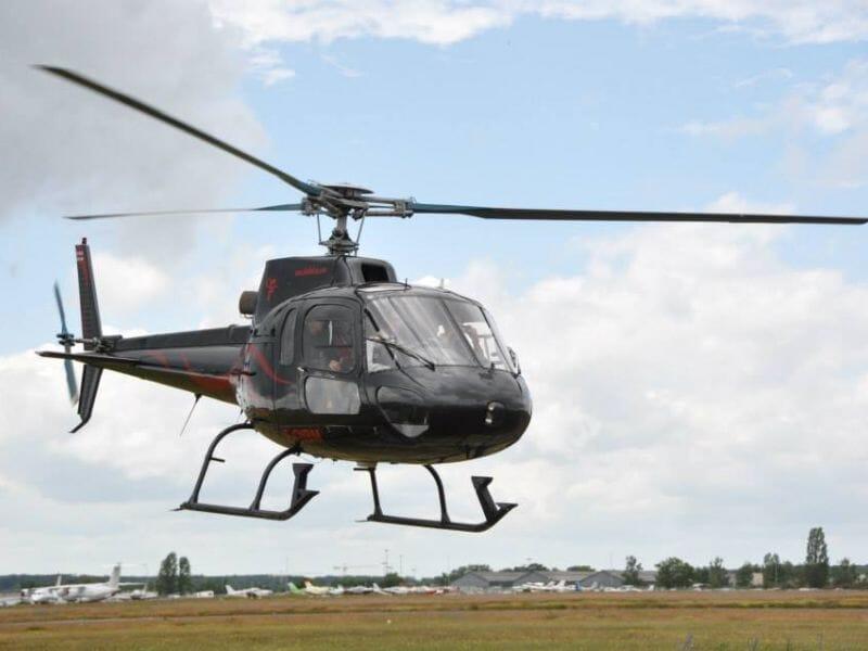 Baptême Hélicoptère - De Chambord à Cheverny