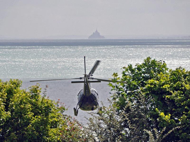 Baptême de l'Air en Hélicoptère près de Saint-Malo à Dinard