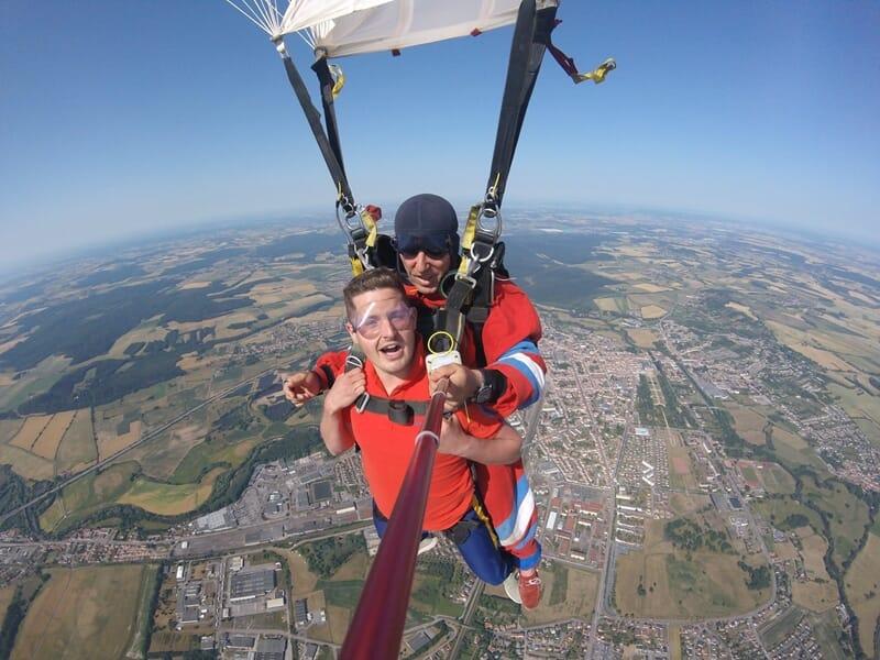 Saut en Parachute Tandem près de Colmar - Saint-Dié-des-Vosges