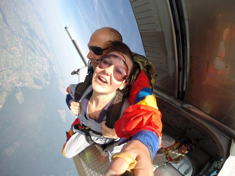 Saut en Parachute en Tandem près de Strasbourg à Haguenau