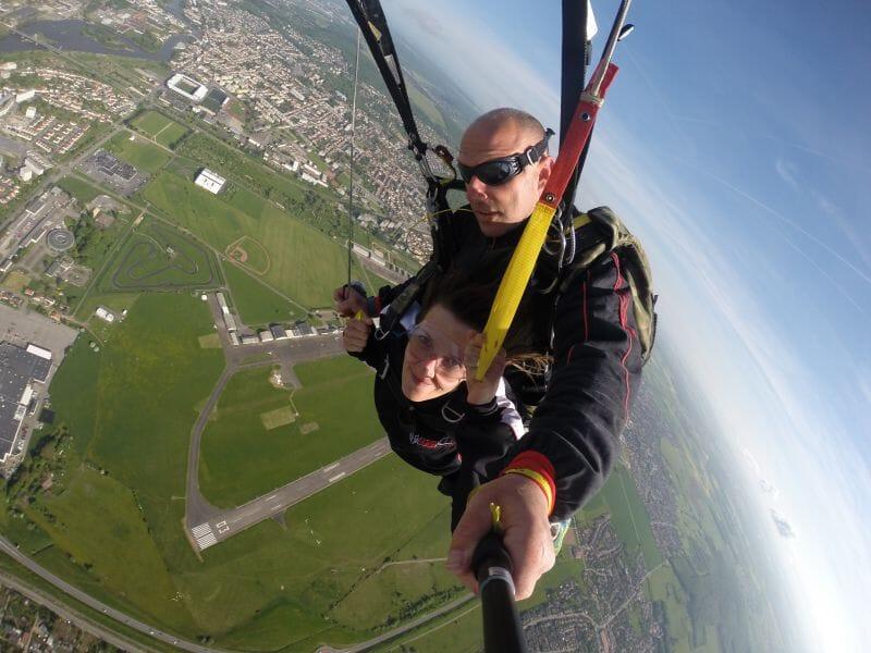 Saut en Parachute en Tandem à Lunéville