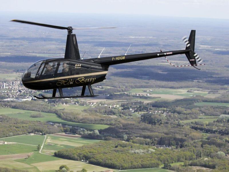 Baptême de l'Air en Hélicoptère à Blois