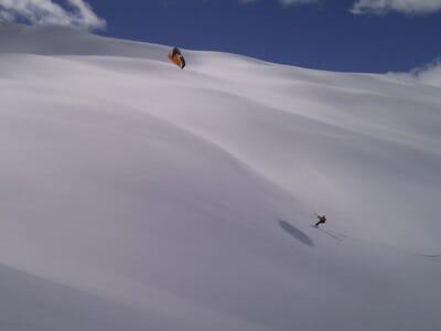 Balade Itinérante en Snowkite - Massifs des Hautes Alpes