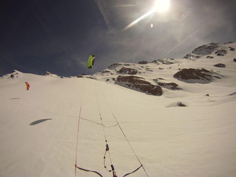 Cours Initiation au Snowkite - Massifs des Hautes Alpes