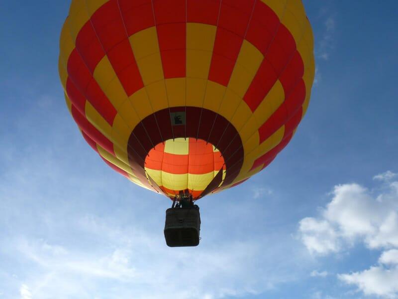 Vol en Montgolfière près de Dijon - Survol de la Côte d'Or
