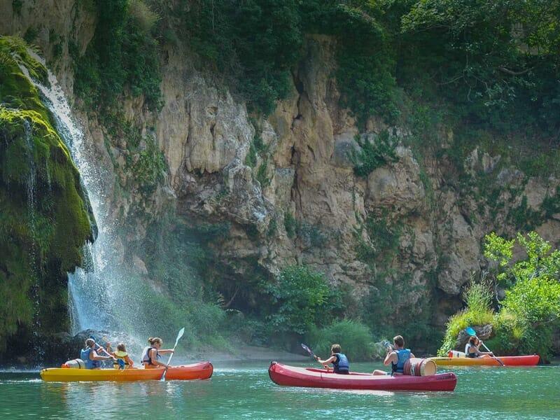 Kayak près de Rodez - Descente des Gorges du Tarn