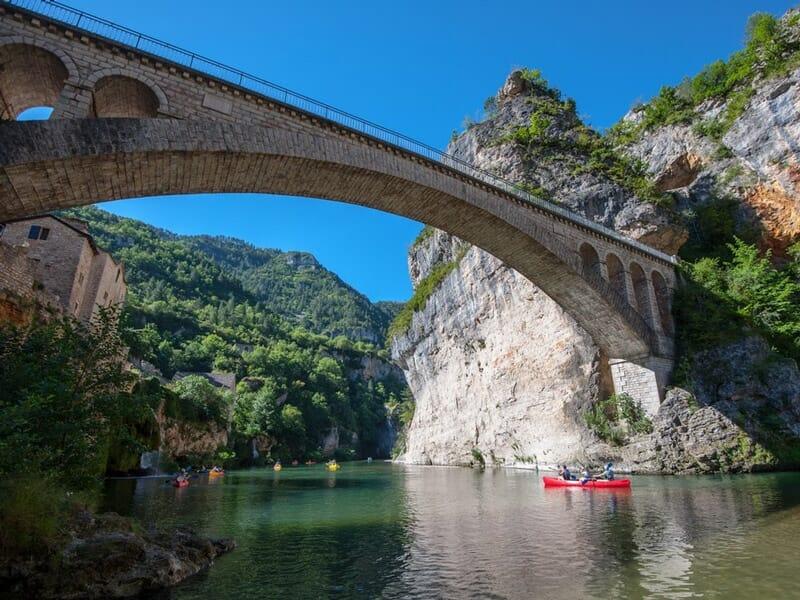 Canoë près de Rodez - Descente des Gorges du Tarn