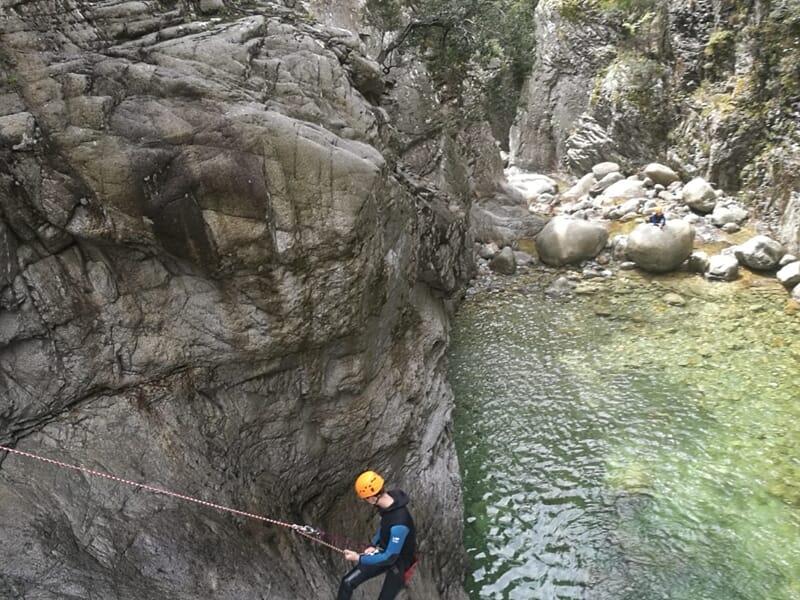 Canyoning près d'Ajaccio - Canyon de Richiusa