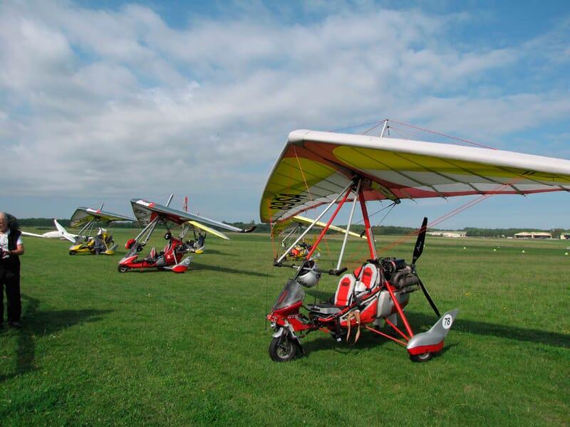 Initiation ULM Pendulaire près d'Auxerre - Aérodrome de Saint-Florentin Chéu