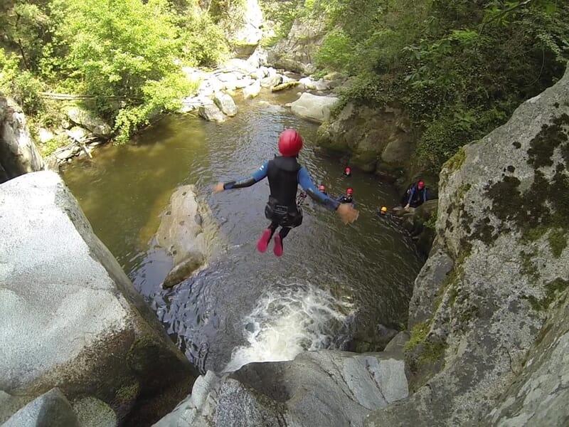 Canyoning près de Perpignan - Canyon de Molitg-les-Bains