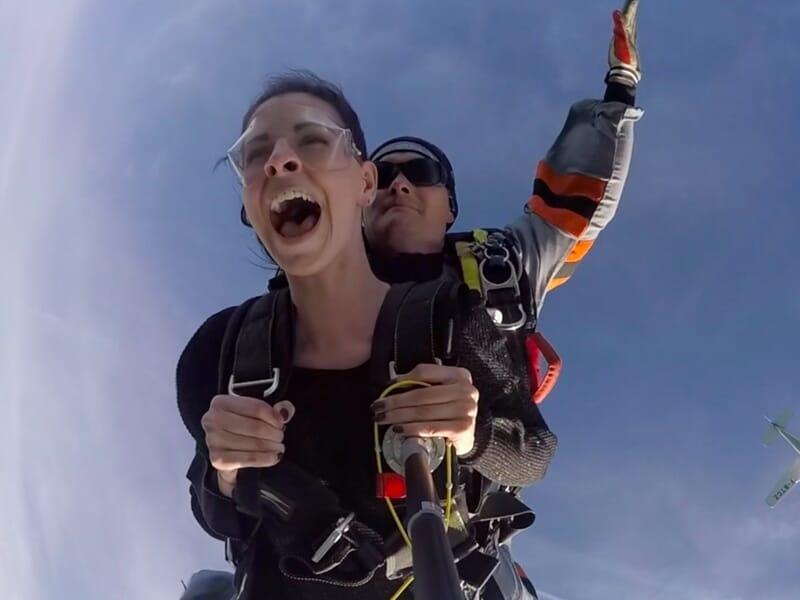 Saut en Parachute en Tandem près de Foix - Saint-Girons