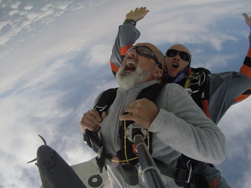 Saut en Parachute en Tandem près de Montauban - Castelsarrasin