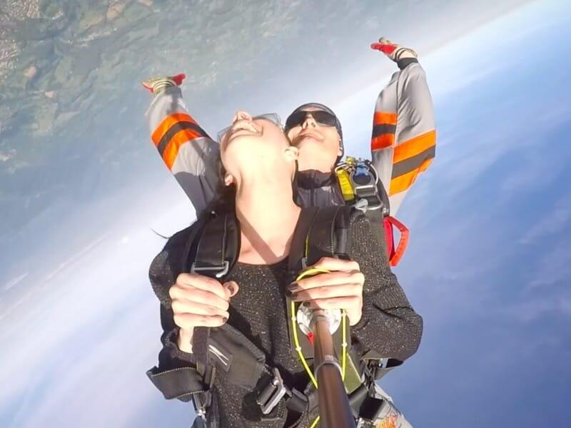 Saut en Parachute en Tandem près de Auch - Condom