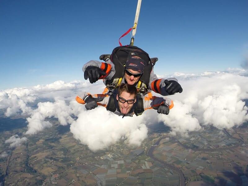 Saut en Parachute en Tandem près de Toulouse - Cazères
