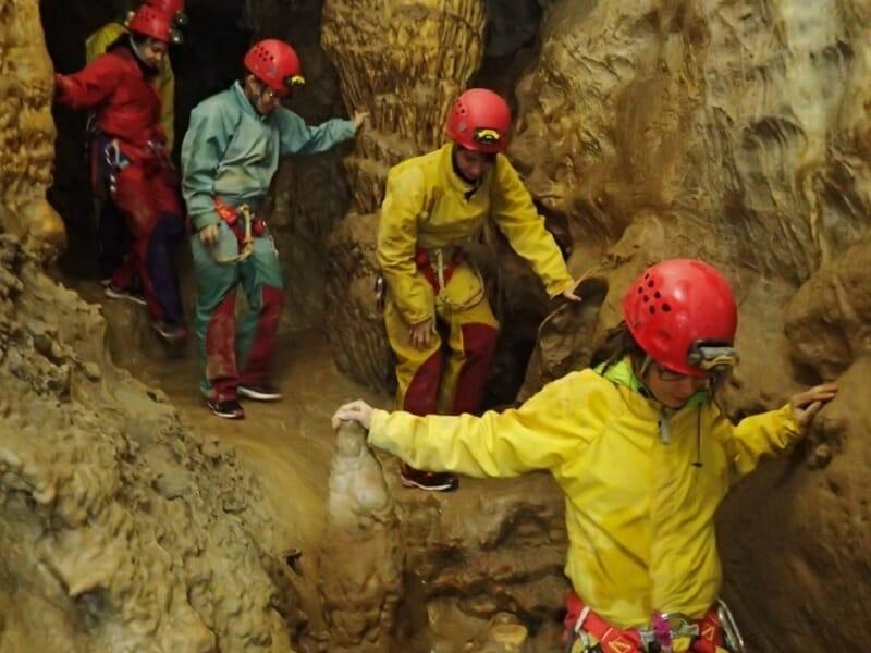 Spéléologie prés de Nice - Sortie à la Grotte de la Mescla