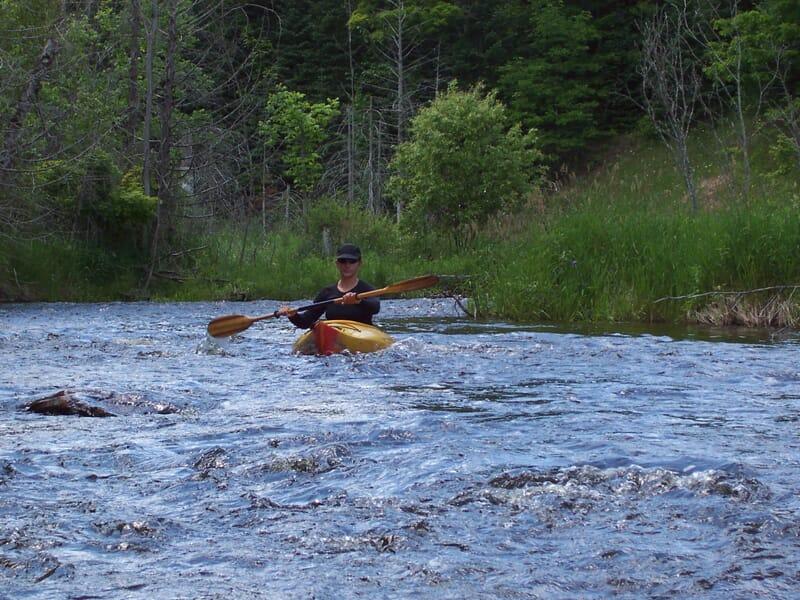 Kayak près de Gap - Le Drac