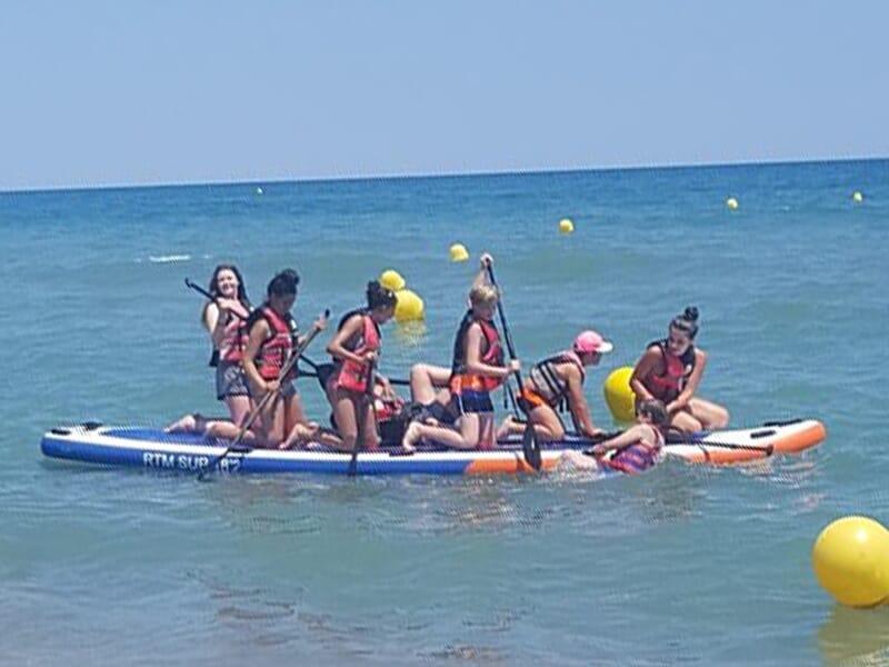 Stand Up Paddle près de Perpignan au Barcarès