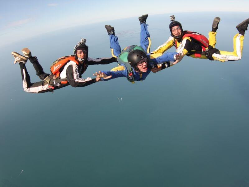 Stage parachutisme PAC à Niort