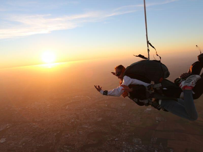 saut en parachute niort