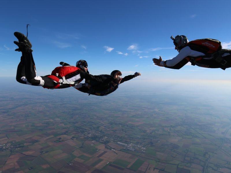 Saut d'Initiation au Parachute à Niort