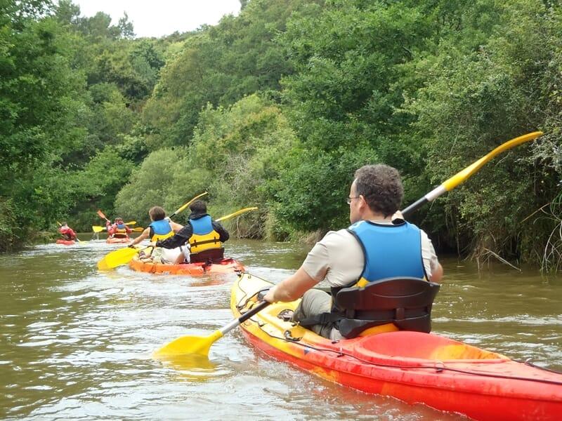 Canoë-Kayak près de Vannes - Descente de la Vilaine