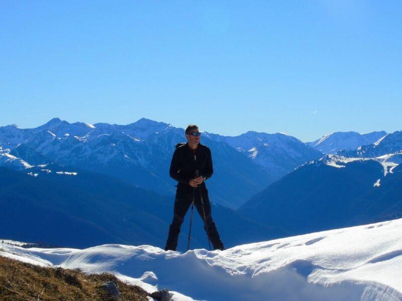 Stage de Trail Blanc près de Foix dans les Pyrénées