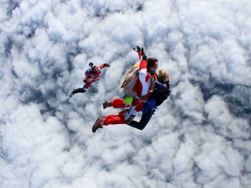 Saut en Parachute en Tandem à Nevers