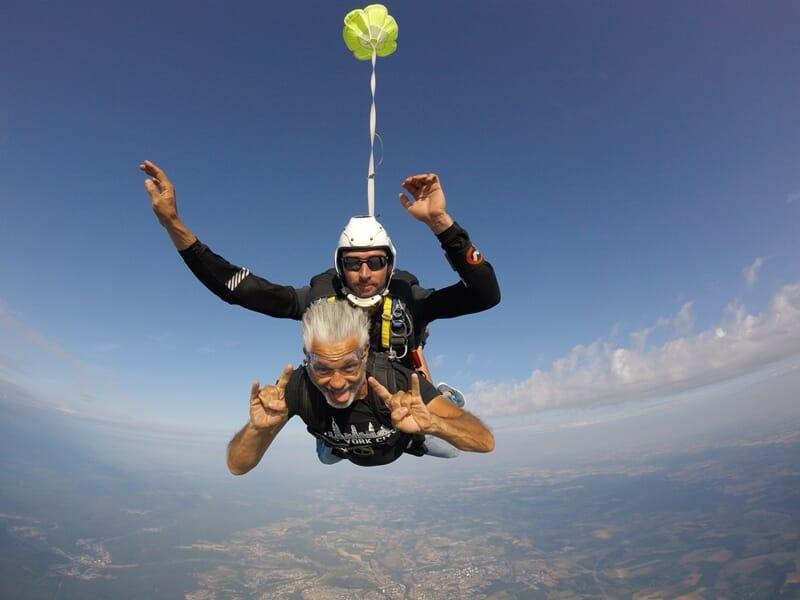 Saut en Parachute en Tandem à Charleville-Mézières