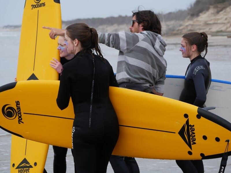 Cours de Surf à Soulac-sur-Mer - Gironde