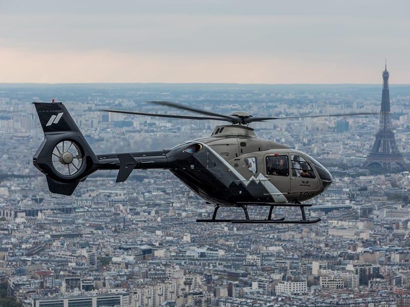 Baptême de l'Air en Hélicoptère à Paris