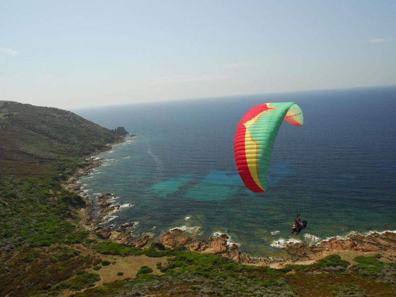 Baptême en Parapente à Vero - Survol de la Corse du Sud