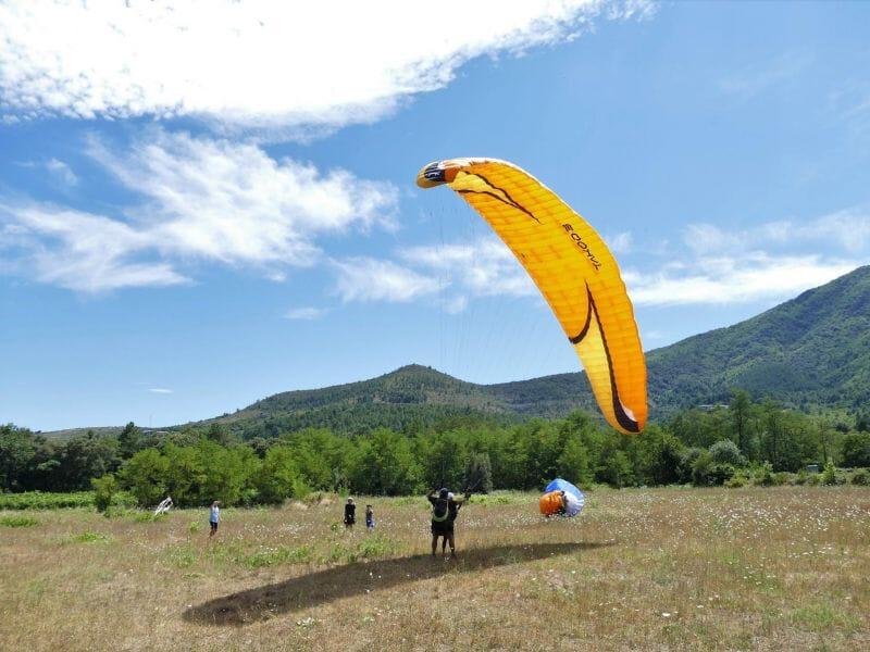 Journée découverte du parapente en Ardèche