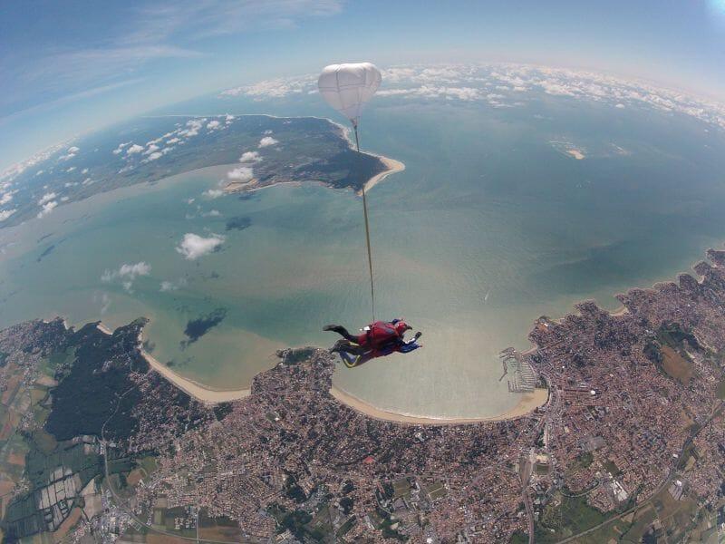 Saut d'Initiation au Parachute à Royan