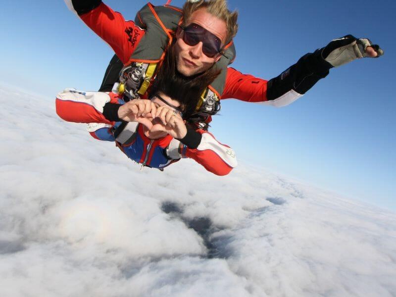 Saut en Parachute en Tandem près de Nancy