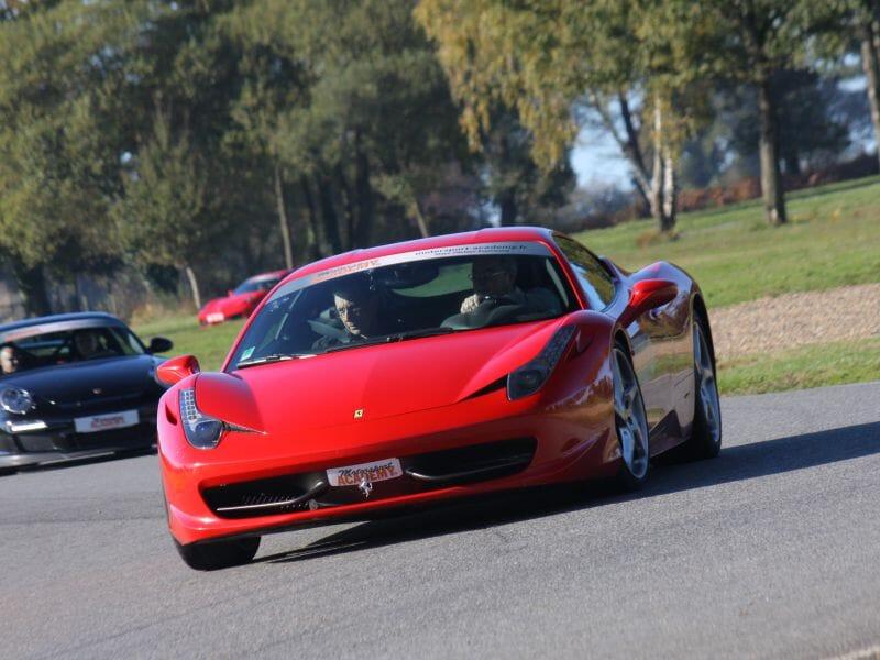 Stage de pilotage Ferrari 458 Italia - Circuit de Lohéac