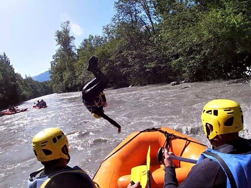 Journée EVG / EVJF - Paintball et Rafting dans le Morvan