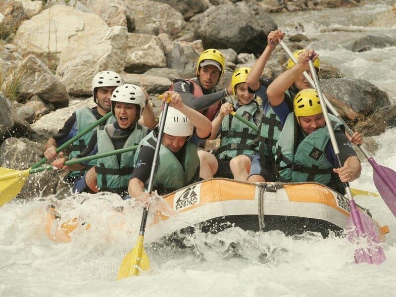 Rafting à Briançon - Descente de la Guisane