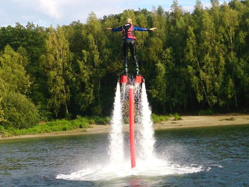 Session de Flyboard - Pommeroeul