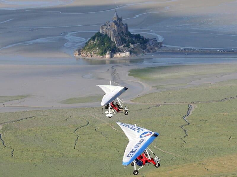 Baptême ULM Pendulaire - Découverte du Mont St Michel