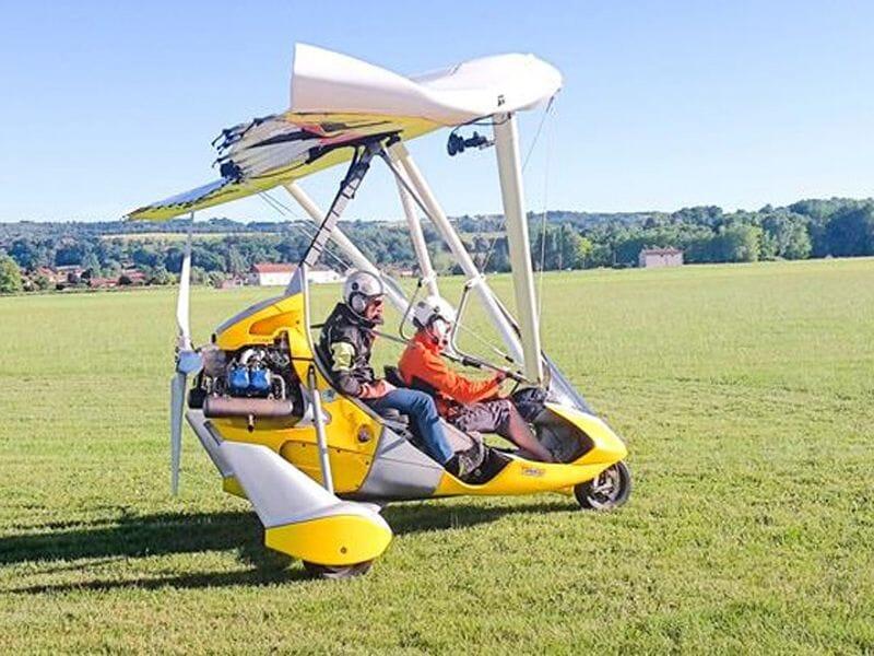 Initiation au Pilotage ULM Pendulaire près de Lyon - Cessieu