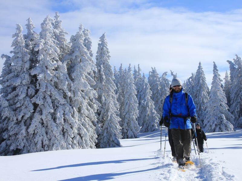 Randonnée en Raquettes aux Arcs - Massif de la Vanoise